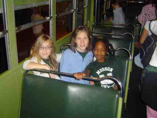 on Rosa Parks Bus